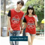 Obral Couple Store Cs Kaos Pasangan Monkey King Evisv Genes Red Murah