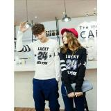 Review Couple Store Cs Kaos Pasangan T Shirt Couple Lucky 24 Black White