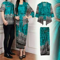 Harga Termurah Couple Store Cs Kemeja Couple Batik 3 In 1 Syndi Tosca