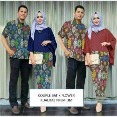 Harga Couple Store Cs Kemeja Couple Batik Navy Good Quality Motif Asli Asli