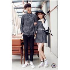 Review Couple Store Cs Kemeja Couple Dress Kotak Terbaru