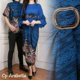 Iklan Couple Store Cs Kemeja Pasangan Arabella 3 In 1 Blue Pria Dan Wanita I Dress Batik I Bayar Tempat I Cod