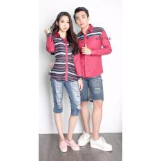 Promo Couple Store Cs Kemeja Pasangan Bg Style Romantic Maroon Couple Store Cs Terbaru