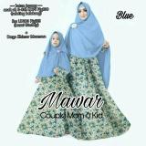 Couple Store Cs Pasangan Syari Ibu Dan Anak Flower Rose Blue 2 Pc Dress Bergo I Bayar Tempat I Cod I Elegant Untuk Di Pakai I Premium Couple Store Cs Murah Di Dki Jakarta
