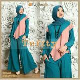 Harga Couple Store Cs Stelan Muslim Elegant 3 In 1 Blouse Celana Kulot Pashmina Tosca Mix Pink Baru Murah
