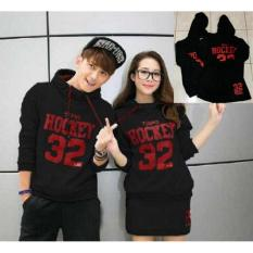 Tips Beli Couple Store Cs Sweater Couple Pasangan Dress Hockey 32 Black Atasan Rok Yang Bagus