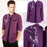 Spesifikasi Couple Store Kemeja Koko Muslim Good Quality Purple Terbaik