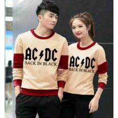 Spesifikasi Couplelover Baju Kapel Sweater Pasangan Acdc Mocca Maroon Pria Wanita Baju Pasangan Sweater Kapel Baju Kembaran Fashion Couple Yang Bagus