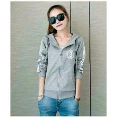 Jual Couplelover Jacket Hoodie Cindy Grey L Jaket Olahraga Fashion Jaket Jaket Wanita Hoodie Cewek Atasan Wanita Murah Di Dki Jakarta