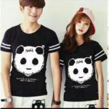 Jual Couplelover Kaos Couple Kickout Panda Black Pd Pria Wanita Baju Fashion Kaos Pasangan Kaos Kembaran Di Dki Jakarta