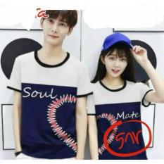 COUPLELOVER- KAOS COUPLE KOMBINASI UNIK PD (PRIA+WANITA)  KAOS KAPEL  BAJU FASHION  ATASAN COUPLE  T-SHIRTS COUPLE