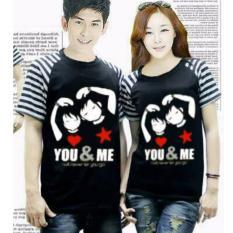 Beli Couplelover T Shirts Couple Fashion Couple Baju Kembaran Kaos Pasangan Kimono You Me Bintang Pd Murah Dki Jakarta