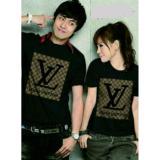 Diskon Couplelover Kaos Pasangan Block Black Pd Pria Wanita Baju Fashion Kaos Kapel Baju Kembaran T Shirts Couple Couplelover