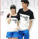 Beli Couplelover Kaos Pasangan Pusple Hitam Putih Pd Pria Wanita Kaos Kapel T Shirts Couple Baju Kembaran Kaos Kembaran Cicilan