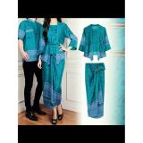 Jual Couplelover Kemaja Couple Batik Puput Tosca Import