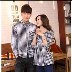 Couplelover Kemeja Pasangan Havannah Kotak Pria Wanita Kemeja Kapel Shirts Couple Baju Fashion Kemeja Couple Batik Kemeja Pasangan Asli
