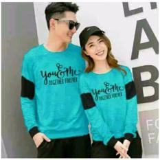 couplelover-sweater pasangan YOUME FOREVER TOSCA (PRIA+WANITA)  BAJU PASANGAN  SWEATER KAPEL  BAJU KEMBARAN  FASHION COUPLE