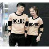 Harga Couplestore Cs Sweater Couple Ac Dc Mocha Cream Couple Store Cs Dki Jakarta