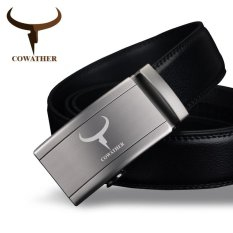 Jual Cowather Kulit Asli Pria Ratchet Dress Belt Dengan Gesper Otomatis Cowather Branded
