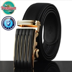 Toko Cowather 2017 Pria Bisnis Otomatis Paduan Buckle Belt 100 Sapi Genuine Leather Strap Belt Kausal Ratchet Belt For Pria Hitam S Xxl Ly712Bg Online Terpercaya