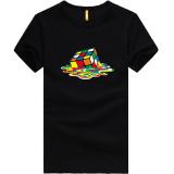 Harga Kreatif Melting Rubiks Rubix Cube Teori Big Bang Putih Mens Tee T Shirt Hitam Oem Asli