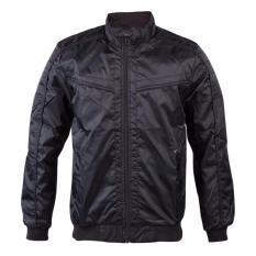 Cressida lightweight parasut jacket - Hitam