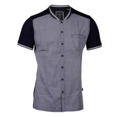 Cressida Next Level Panel Polo Shirt Pria C118 - Biru