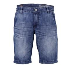 Cressida Next Level Short Denim Pants Pria E149 - Biru