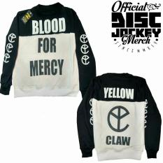 Beli Crewneck Yellow Claw Blood For Mercy Online Terpercaya