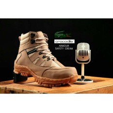 CROCODILE ARMOUR SAFETY SHOES - Sepatu Safety Boots / Angkle Boots Cocok Untuk Working Touring Dan Hiking