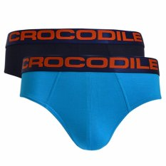 Toko Crocodile Underwear 521 275 Brief 2 Pcs Multicolor Celana Dalam Pria Online Jawa Barat