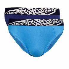 Crocodile Underwear 521-279 Brief - 2 pcs - Multicolor  - Celana Dalam Pria