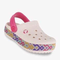Crocs Crocband Gallery Clog Girl's Sandals - Putih