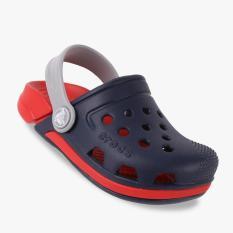 Crocs Electro III Clog Kid's Shoes - Merah-Navy