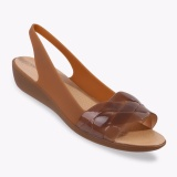 Jual Crocs Isabella Slingback Women S Casual Shoes Cokelat Crocs