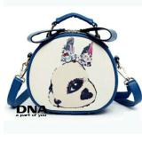 Jual Cross Body Shoulders Bags Sling Bag Tas Selempang Cute Bunny Blue Non Brand