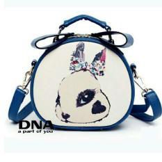 Jual Cross Body Shoulders Bags Sling Bag Tas Selempang Cute Bunny Blue Online Jawa Barat