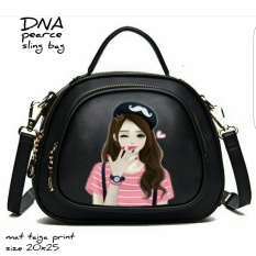 Toko Cross Body Bag Sling Bag Tas Selempang Korean Style Cute G*Rl Online Terpercaya