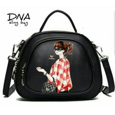 Cross Body Bag / Sling Bag / Tas Selempang Korean Style Fashionable Girl