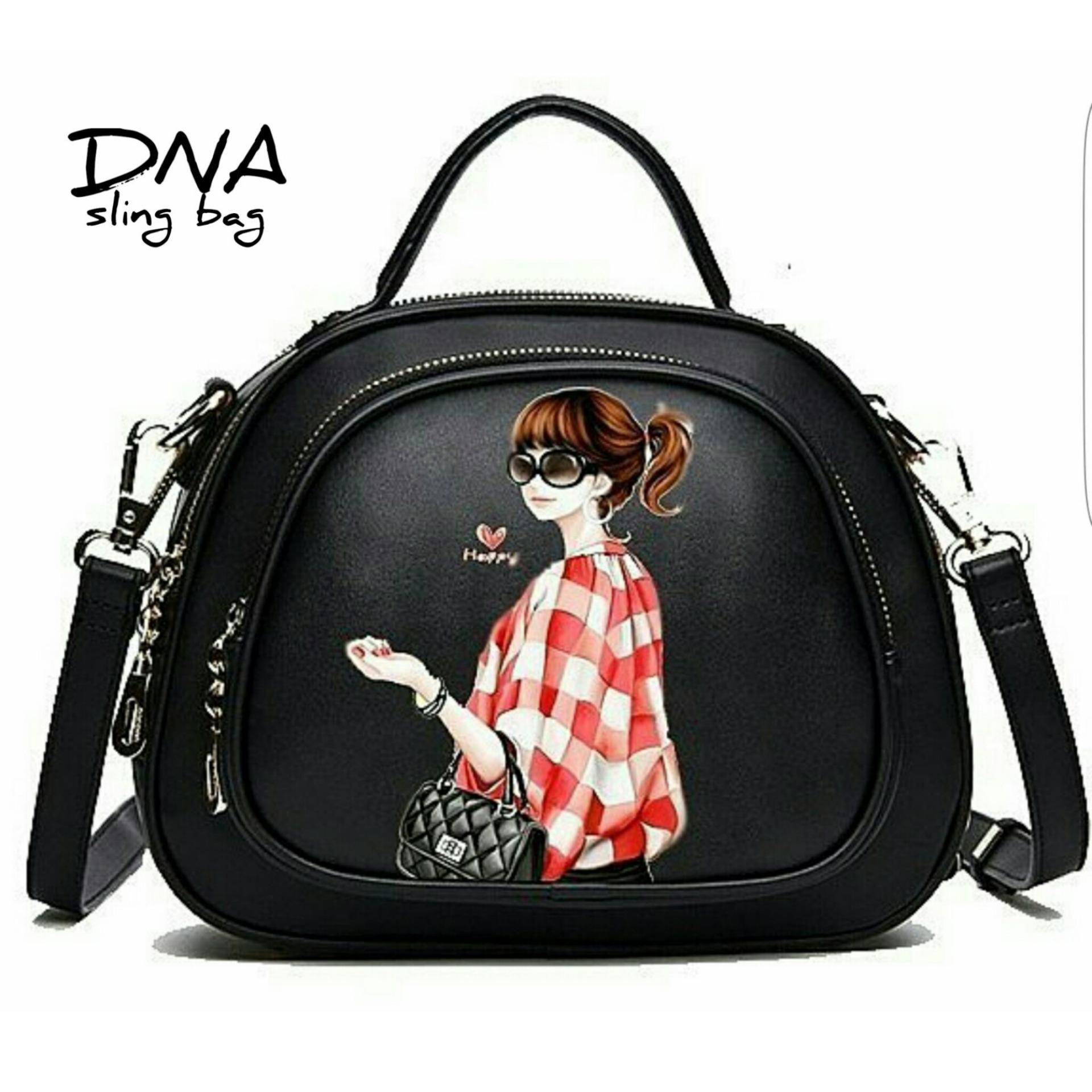 Cross Body Bag   Sling Bag   Tas Selempang Korean Style Fashionable Girl . 99931f7ba9