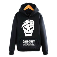 Harga Termurah Cross In Mind Hoodie Call Of Duty Black Ops Zombie Hitam