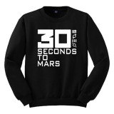 Harga Cross In Mind Sweater Thirty Seconds To Mars Hitam Online