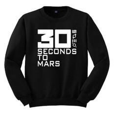 Beli Cross In Mind Sweater Thirty Seconds To Mars Hitam Online Dki Jakarta