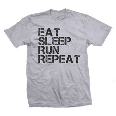 Diskon Cross In Mind T Shirt Eat Sleep Run Repeat Abu Misty Cross In Mind Di Dki Jakarta