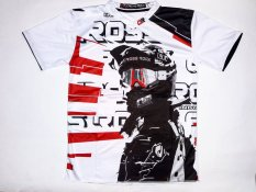Spek Cross Rock Jersey Cross Helm Reds