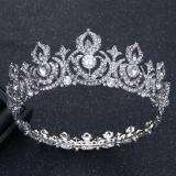 Beli Crown Batu Kristal Air Bergaya Eropa Mempelai Wanita Besar Perhiasan Online Terpercaya