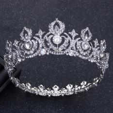 Ulasan Tentang Crown Batu Kristal Air Bergaya Eropa Mempelai Wanita Besar Perhiasan