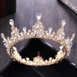 Beli Crown Model Korea Baru Gaun Pengantin Dengan Mempelai Wanita Asesoris Kepala Murah Di Tiongkok