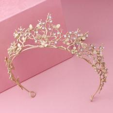 Toko Crown Model Korea Emas Ranting Pohon Bando Jenis Hiasan Rambut Tiongkok