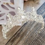 Harga Crown Untaian Manik Hand Made Besar Menikah Gaun Pengantin Gaun Mempelai Wanita Asesoris Kepala Other Terbaik